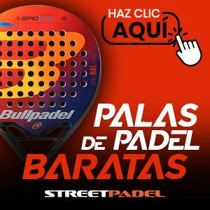 Palas de pádel baratas en StreetPadel.com