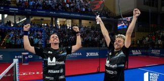Paquito Navarro y Martín Di Nenno consiguen en Córdoba su segundo título